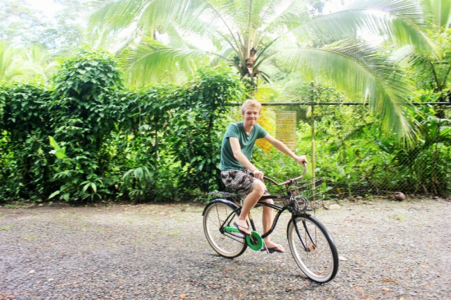 Cycling is eco-friendly travel - Charlie on Travel