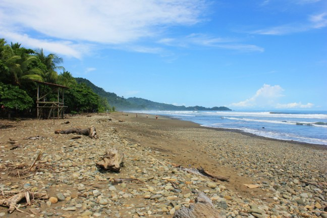 Dominical beach Costa Rica