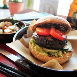 Teriyaki Tofu Burger