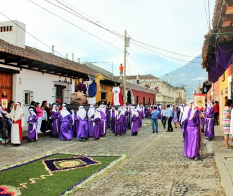 Semana Santa procession Antigua Guatemala