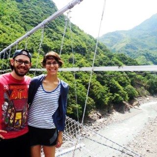 Hiking in Taroko Gorge Taiwan