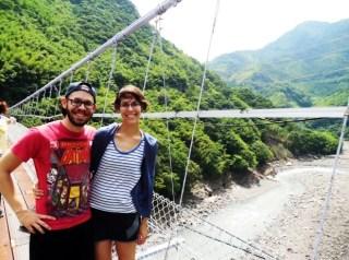 Hiking in Taroko Gorge Taiwan