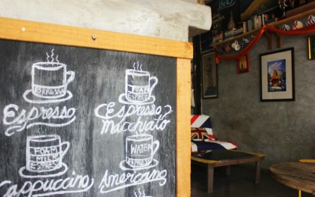 Antique cafe on koh samet thailand - charlie on travel