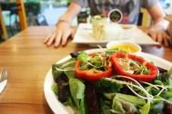 Salad bowls in Chiang Mai
