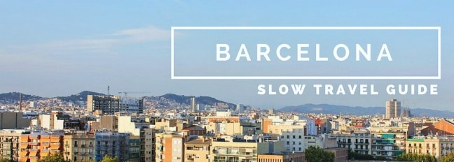 Barcelona Slow Travel Guide Charlie on Travel Cover Image