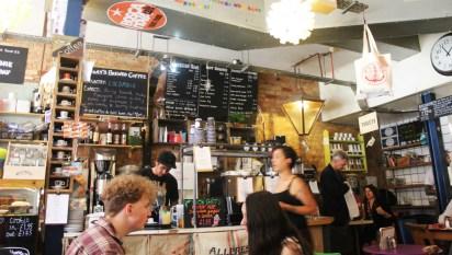 Cafe Boscanova at breakfast