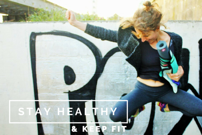 Keep fit and Healthy while Travelling - POW - Charlie on Travel head