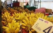 Bananas in a Thai market