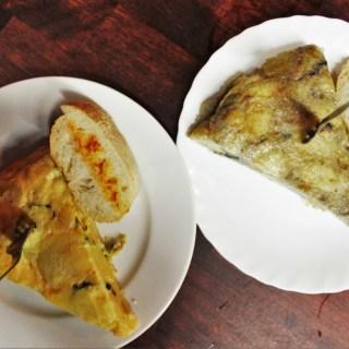 Kop de Ma vegetarian Spanish Omelette in Barcelona