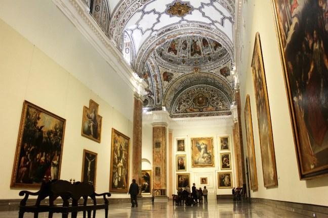 Slow Travel in Seville - inside the Fine Art Museum - Charlie on Travel 1200