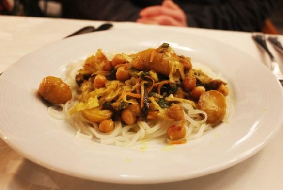 Vegan in Plovdiv Bulgaria - stew at Hotel Odeon - Charlie on Travel