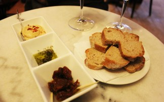 Vegan in Plovdiv at Vino Culture