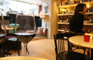 Vegan in Plovdiv Bulgaria - wine at VinoCulture - Charlie on Travel