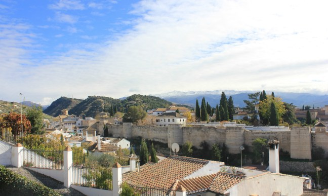 View from San Cristobal Granada Spain - Charlie on Travel