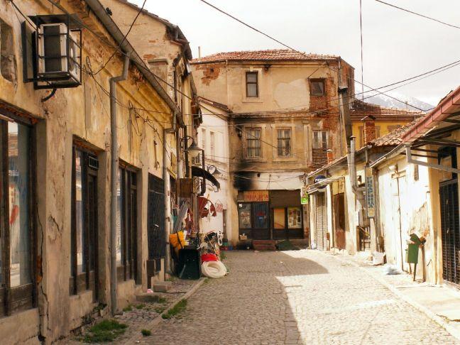 Bitola's Old Bazaar