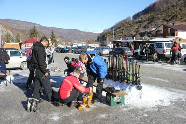 Renting Ski gear in Mavrovo Macedonia - Charlie on Travel