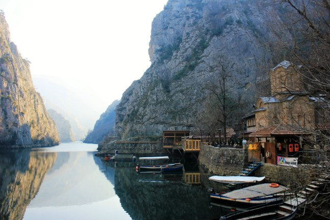 Restaurant in Matka canyon Macedonia - Charlie on Travel