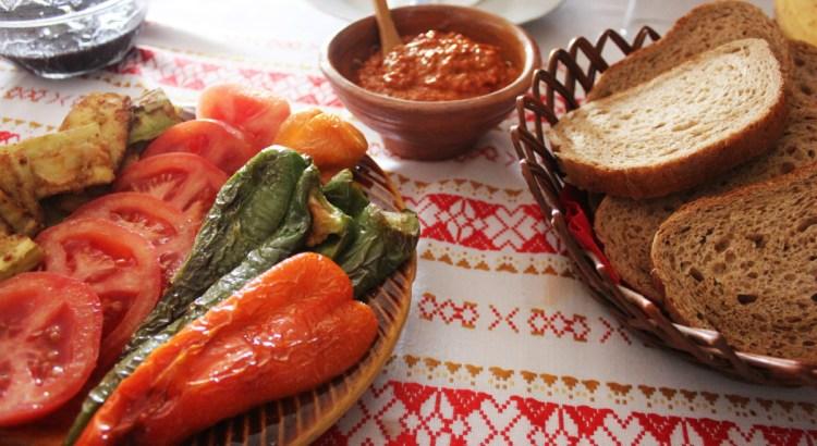 Vegan Travel Breakfast in Macedonia