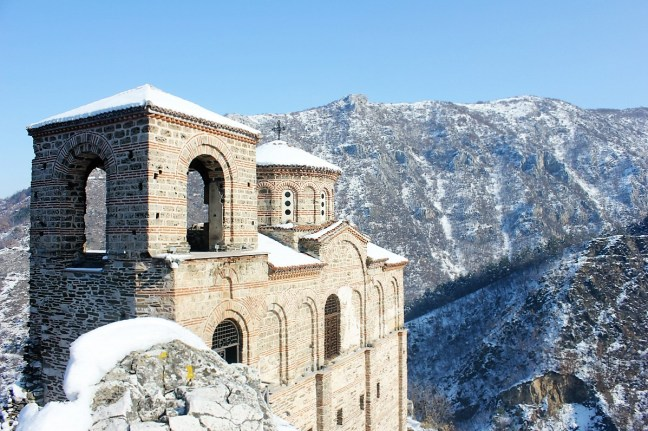 Asen's Fortress - Plovdiv Bulgaria - Charlie on Travel