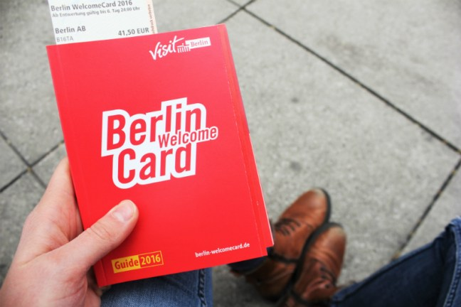 Berlin Welcome Card - Green Travel Berlin - Charlie on Travel