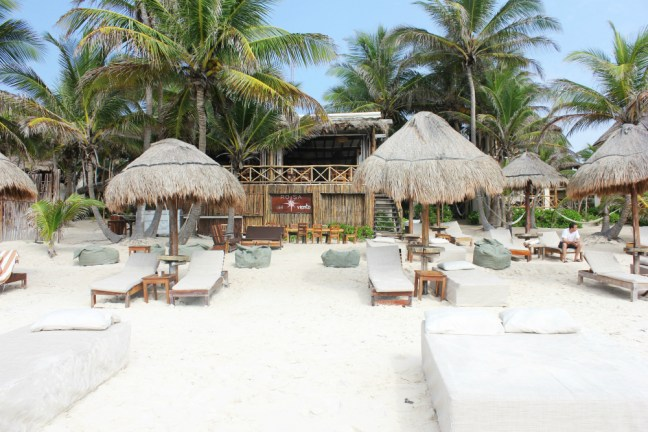 Hotel Zone in Tulum Mexico - Charlie on Travel