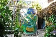 Artwork at Hostel La Candelaria