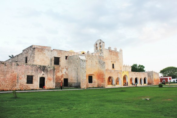 San Bernardino Convent by day Valladolid Mexico - Charlie on Travel