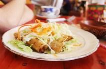 Vegetarian taco rolls
