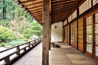 Portland City Guide - Japanese Garden building