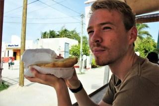Fryjacks in Caye Caulker Belize