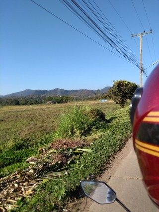 The sun had come out by the time we reached Pai