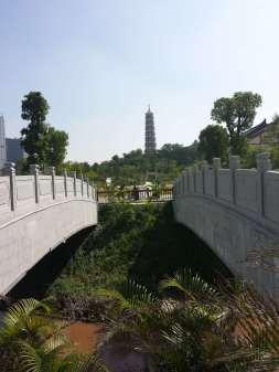 The park surrounding the Pagoda