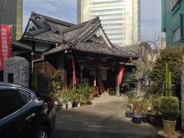 Cute little building/temple on a backstreet by the hostel
