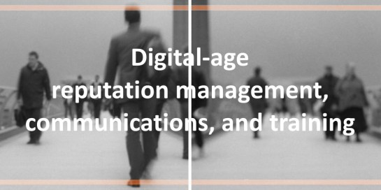 Charlie Pownall: Digital-age reputation management, communications, and training