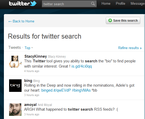 Twitter Tips: How To Search Twitter To Find New People To