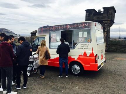 The Luxury Scottish Ice cream van