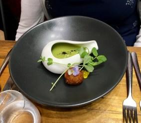 Green Peas and Ham