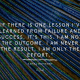 Music, Quotes & Coffee - picture of a quote by Kamal Ravikant about lessons in failure and success