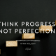 Music, Quotes & Coffee - picture of a quote by ryan holiday about making progress