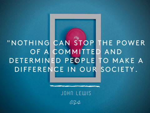 power of commited - john lewis