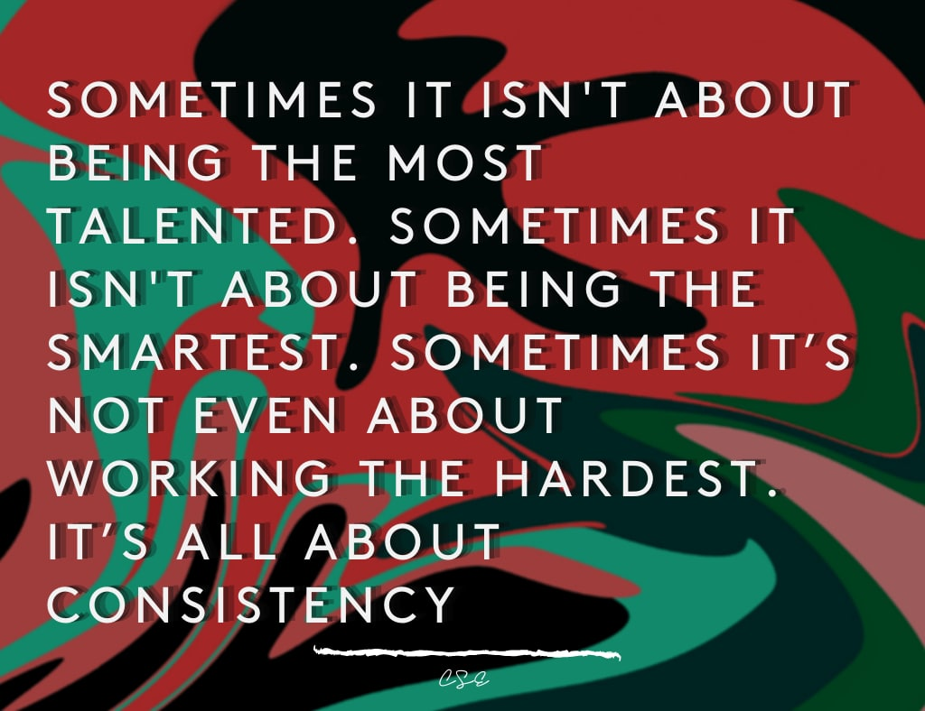 Alder Koten - Executive Search Consultant - Mexico - USA - It's All About Consistency- Motivation - Inspiration
