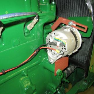Hitachi alt on Oliver 88 tractor