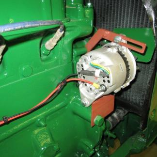 Hitachi alt on Oliver 88 tractor