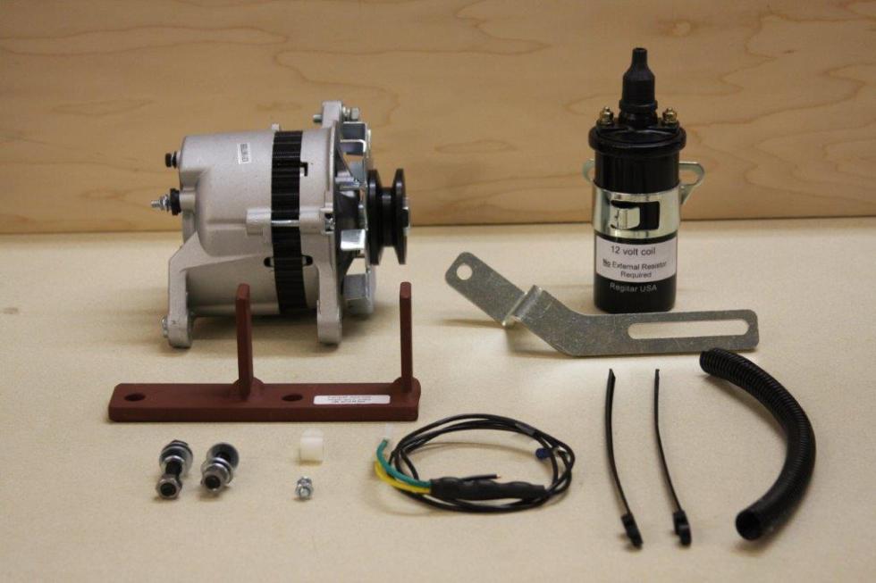 6 to 12 volt wiring on farmall tractors hitachi mitsubishi alternator kits     charlie s repair  hitachi mitsubishi alternator kits