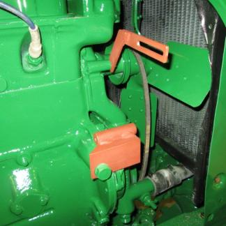 Hitachi mounting brackets on Oliver 88
