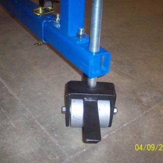 HD front dual wheels assembly