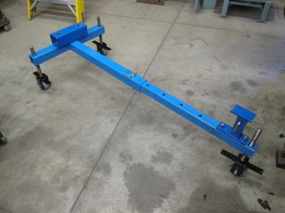 Adjustable rear housing stand