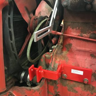 Denso mounting brackets on Farmall B