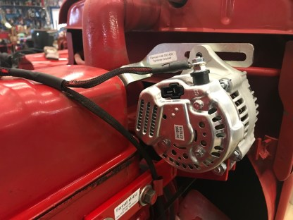 Denso alt on Farmall M-450 tractor