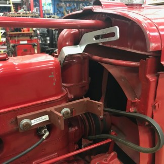 Farmall H mounting bracket for Hitachi alt.